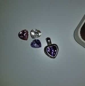 Sterling Silver Heart Necklace w/ chain